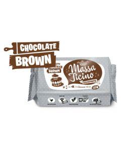 Massa Ticino Chocolate Brown Sugar Paste 250g