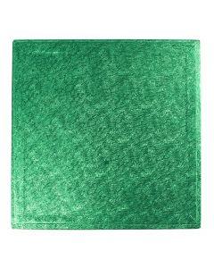 """12"""" (304mm) Cake Board Square Green"""