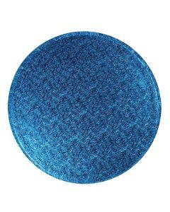 """12"""" Dark Blue Drum Round"""