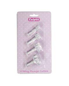Culpitt Plunger Cutter Daisy 4 piece