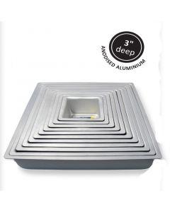 "PME Seamless Professional Bakeware - Square -  9"" x 3"""