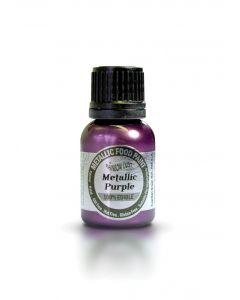 Rainbow Dust Metallic Edible Paint: Purple (25ml)