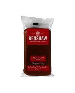 Renshaw RTR Sugar Paste - Chocolate - 500g