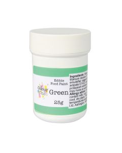 Colour Splash Edible Paint - Matt Green