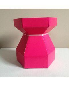 Cupcake Bouquet Box - Cerise (now Passion Flower)