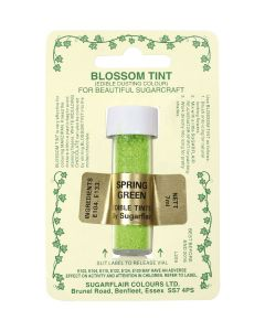 Sugarflair Blossom Tint Dust Spring Green (7ml)
