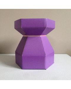 Cupcake Bouquet Box - Lilac