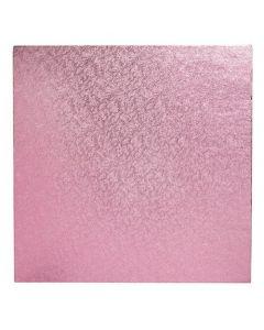 "12"" (304mm) Cake Board Square Light Pink"