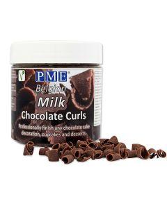 PME Chocolate Curls - Milk - 85g