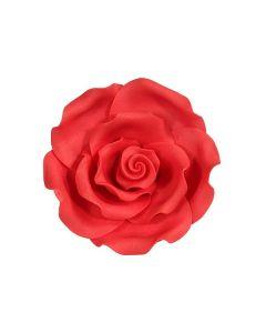 SugarSoft Rose Strawberry 50mm - Box of 10