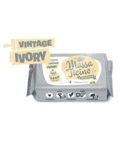 Massa Ticino Vintage Ivory Sugar Paste 1kg Best Before 20-12-19