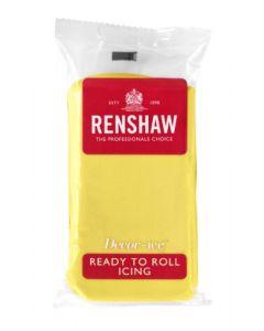 Renshaw RTR Sugar Paste - Yellow - 500g
