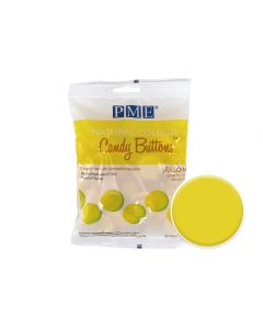 PME Natural Colour Candy Buttons - Yellow