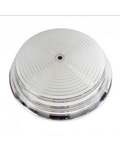 "Round Silver Bright Cake Stand - 16"""