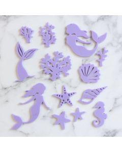 SWEET STAMP     Mystic Mermaid Embossing Elements Set