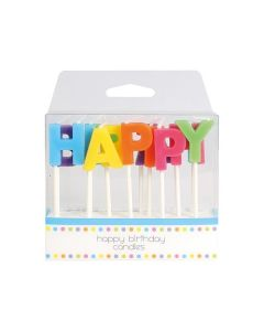 Happy Birthday Candles - single pack