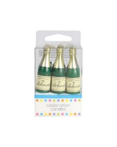 6 Champagne Candles - single pack