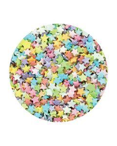 Purple Cupcakes - Tiny Multi Stars - 60g
