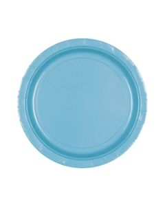 Caribbean Blue Party Plates - Paper