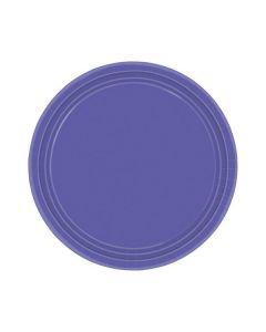 Purple Party Plates - Paper