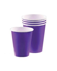 Purple Party Cups - Paper