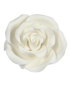 SugarSoft Rose White 63mm - Box of 8