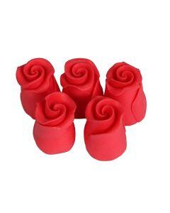 SugarSoft Rosebud Strawberry 13mm - Box of 38
