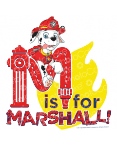 PAW Patrol - M for Marshall - Image