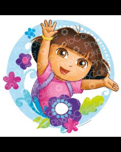 Dora the Explorer - Flowers - Image