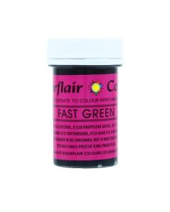 Sugarflair Paste Colours - Fast Green - 25g