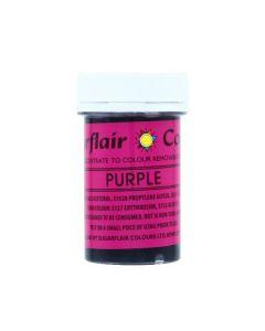Sugarflair Paste Colours - Purple - 25g