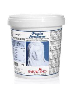 Saracino Deco Choc White Chocolate Sculpting Paste 1kg Best Before 30-4-20