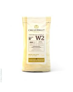 Callebaut White Belgian Couverture Chocolate 400g