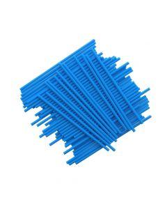 "6"" Blue Plastic Cake Pop Sticks (pack of 25)"