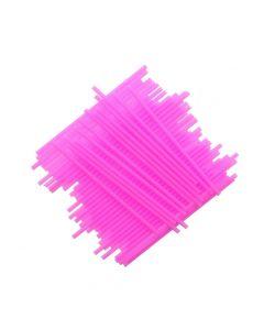 "6"" Pink Plastic Cake Pop Sticks (pack of 25)"