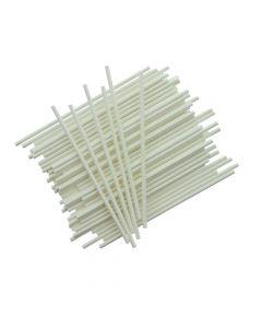 """6"""" White Plastic Cake Pop Sticks (pack of 25)"""