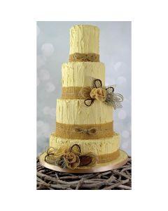 Cake Lace - Hessian Mat