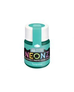 Squires Kitchen: Neonz Paste- Turquoise