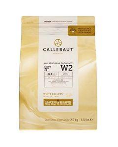 Callebaut Belgian White Chocolate chips - 2.5kg