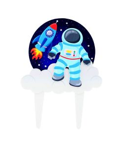 Spaceman Gumpaste Pic - 150 X 200mm (Inc Pic)