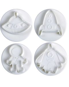 Pavoni Plunger Cutters Space 4 Piece