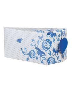 House Of Cake China Blue Cake Slice Box - 10 Pack