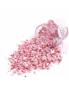 Happy Sprinkles 'Love Birds' Edible Sprinkles 90g