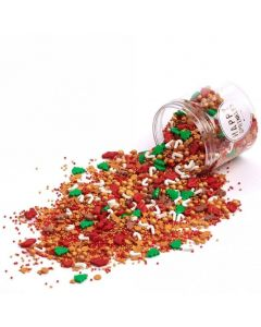 Happy Sprinkles 'Santa's Favourite' Edible Sprinkles 90g