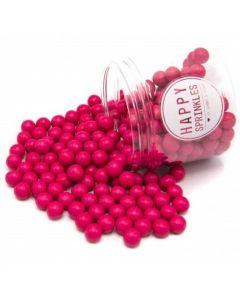 Happy Sprinkles `Hot Pink Medium Edible Choco Sprinkles` 90g