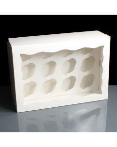 12 Count Mini Premium Cupcake Box (pack of 5)