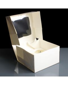4 Count Mini Premium Cupcake Box (pack of 5)
