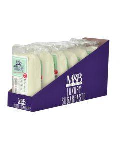 M&B Luxury Sugarpaste Ivory 500g