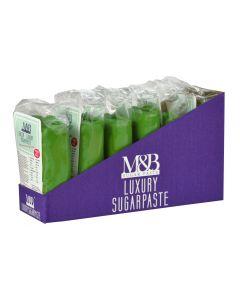 M&B Luxury Sugarpaste Green (2) 500g