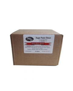 Post Box Red Sugar Paste Direct (SPD) 2.5kg